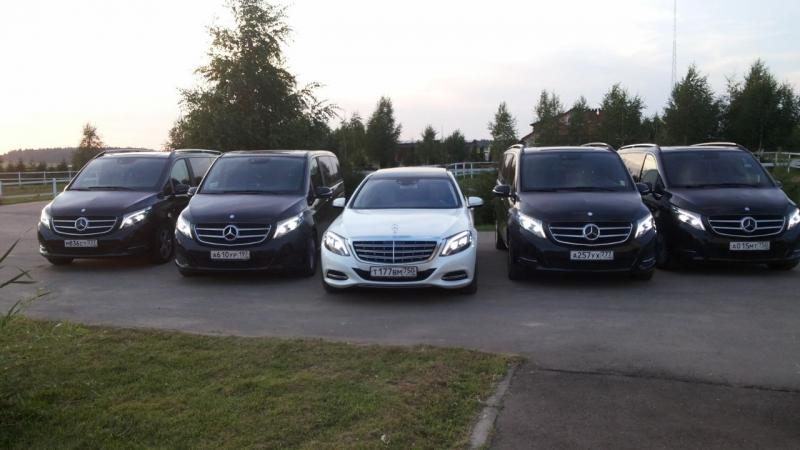 Автопарк автомобили Mercedes