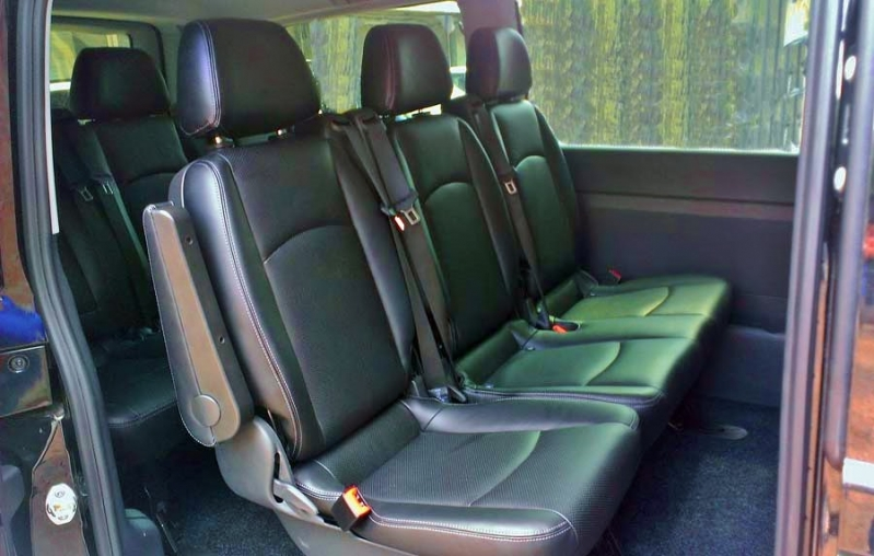 Салон и пассажирские сидения